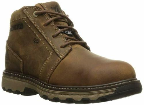 Caterpillar Mens Parker Esd Steel Toe Industrial and Constru