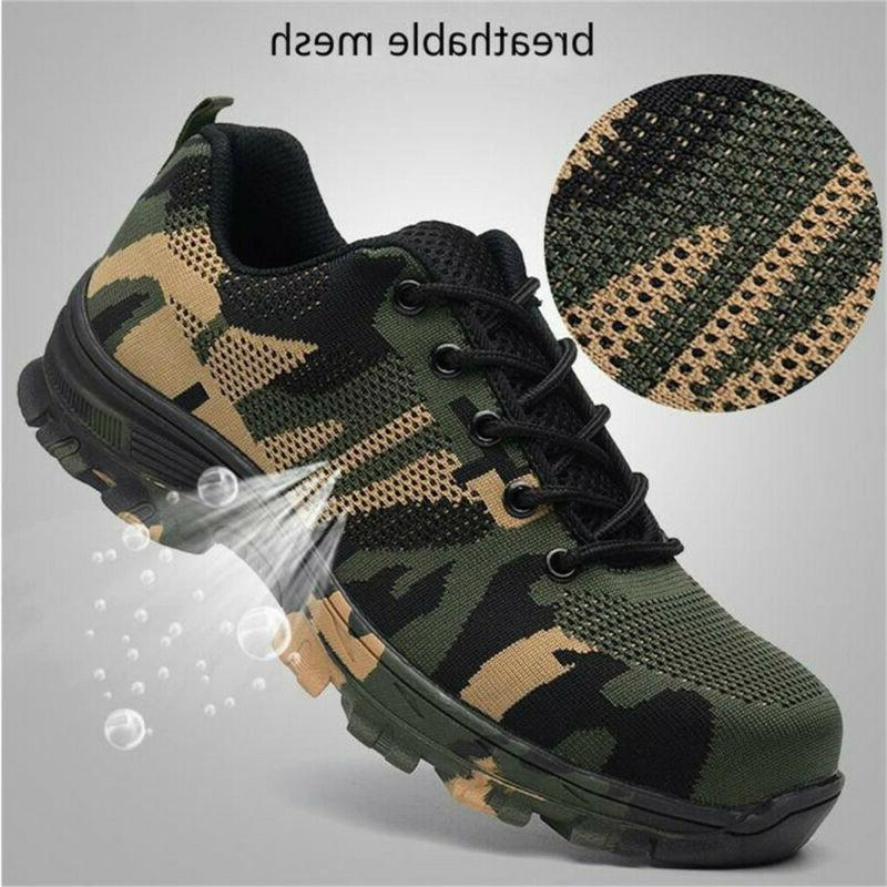 Men's ESD Steel Toe Breathable Work Size