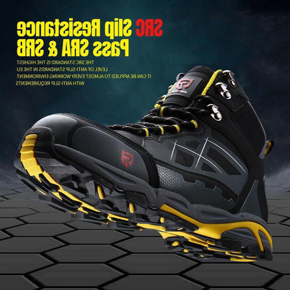 LARNMERN Boots,Mens Work Footwear Industrial