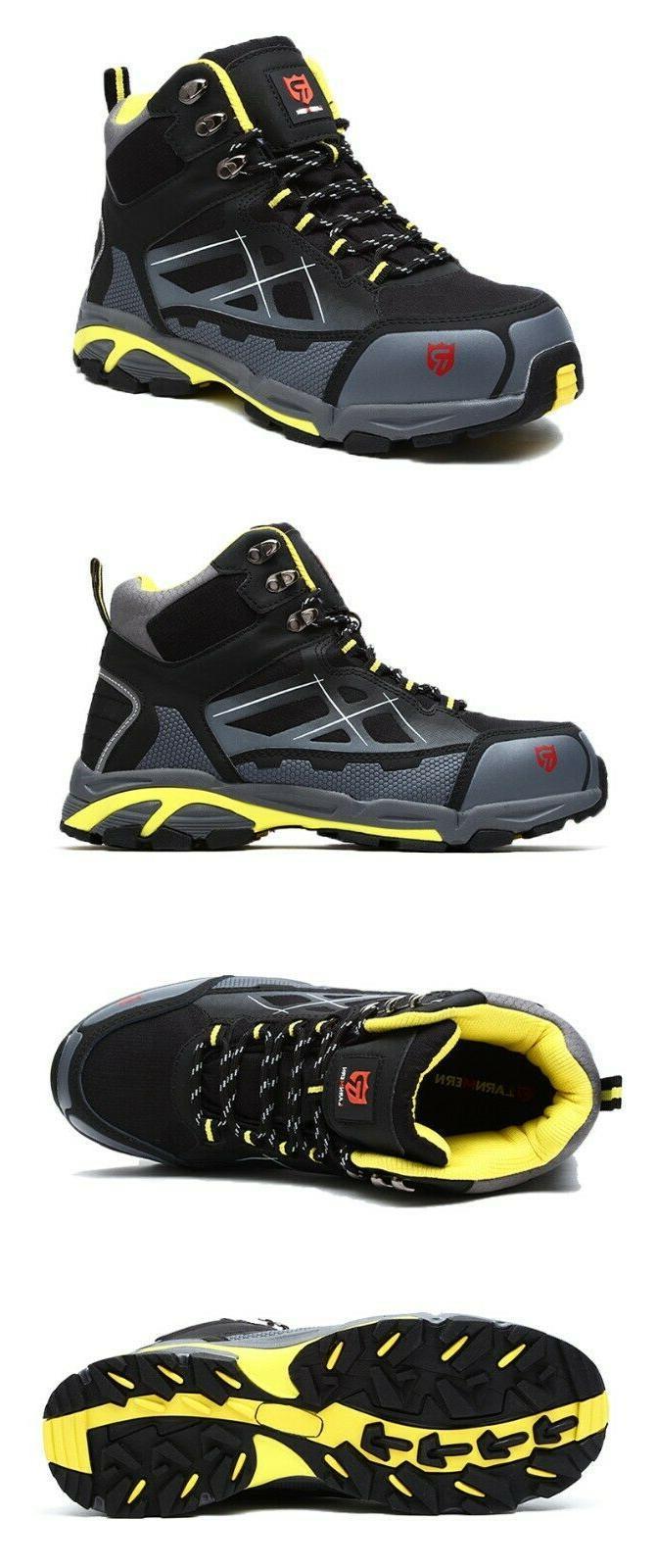 LARNMERN Steel Work Safety Outdoor Footwear