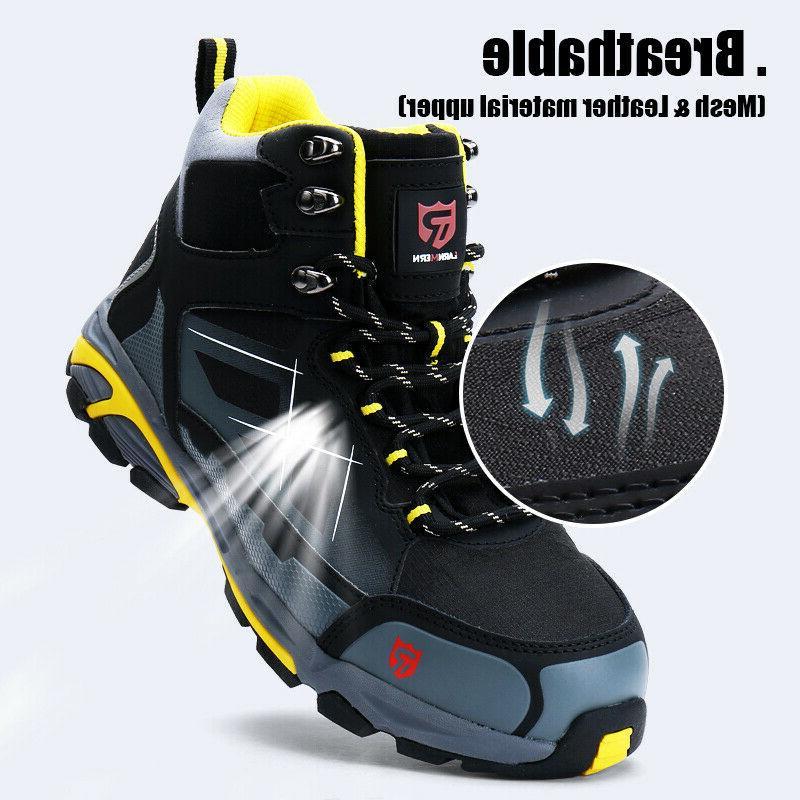 LARNMERN Toe Work Outdoor Protection Footwear