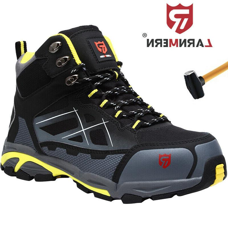 mens steel toe safety shoes lightweight anti