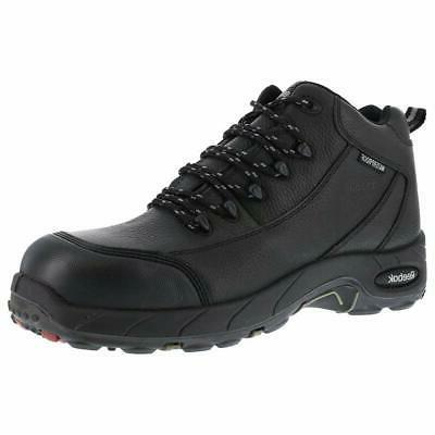 mens tiahawk safety toe work boots leather