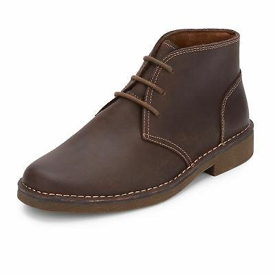 Dockers Mens Tussock Genuine Leather Lace-up Rubber Sole Des