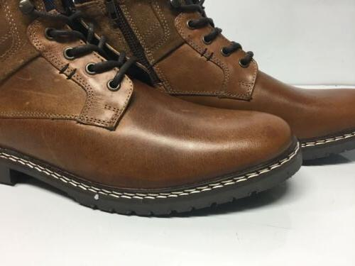 Steve Madden Cognac Leather Boots