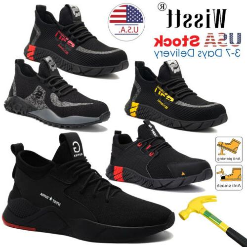 mens work safety shoes steel toe cap