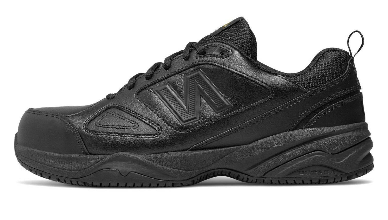 New Balance MID627B2 Men's 627v2 Black Leather Steel Toe Ind