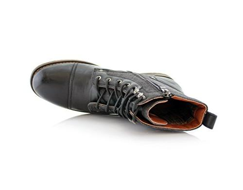 Polar Mike MPX88575 Casual Boots with Buckles