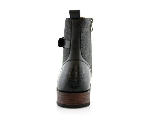 Polar Fox MPX88575 Casual Dress Boots with Buckles