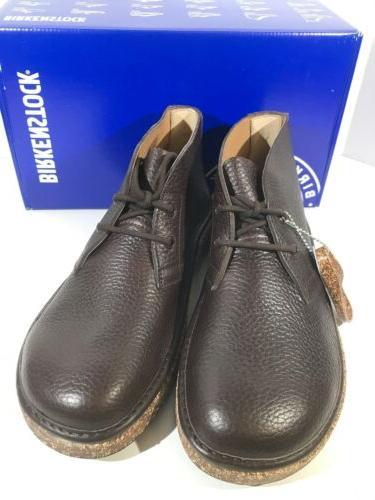 Birkenstock Milton Men's Size 10 Reg Fit Leather Chukka Boots