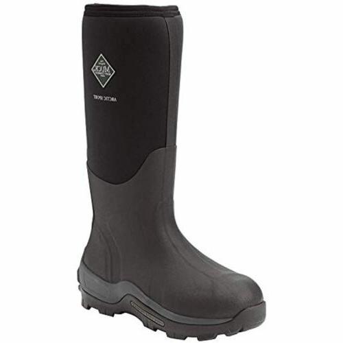 Men's Boot Minus 40 Arctic Sport Waterproof Rubber Boots, Black