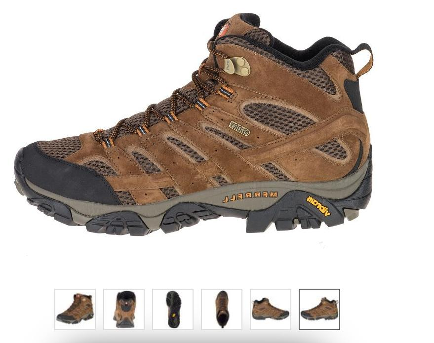 moab 2 mid wp waterproof earth hiking