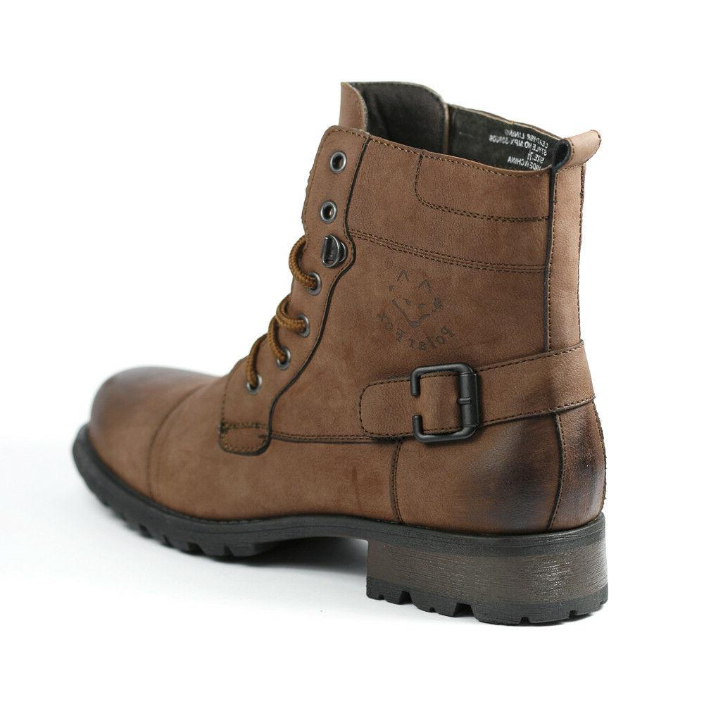 Polar MPX-508006 Lace Up Ankle Boots