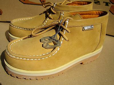New Buffalino Men Leather Boots Size 9  Color Wheat