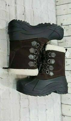 NEW Clarks Collection Thermo Lite Waterproof Brown Black Boo