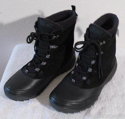 NEW Teva Highline WP Mens Winter Boots 8 Black MSRP$130