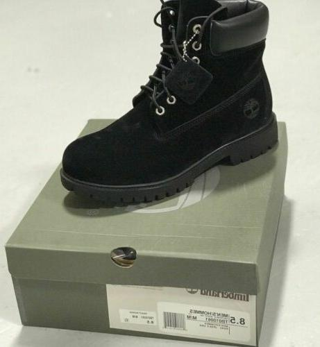 MENS TIMBERLAND BLACK BOOTS BRAND NEW FREE SHIPPING