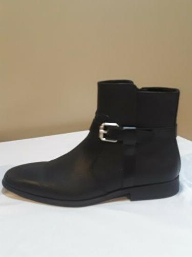 new men s lincoln black leather ankle
