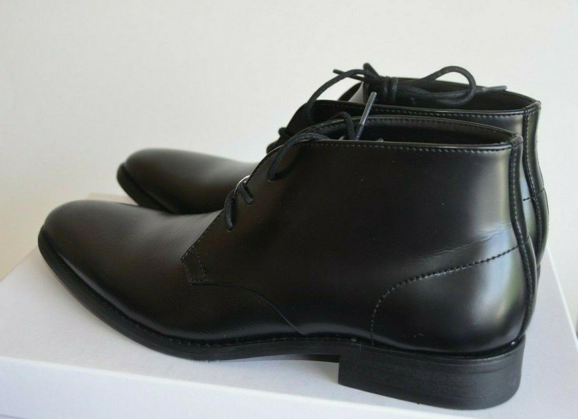 NEW Rolando Leather/Stamp Chukka Boot 8