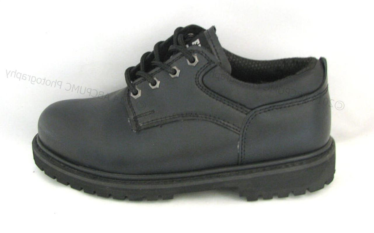 New Men's Work Leather Oxford
