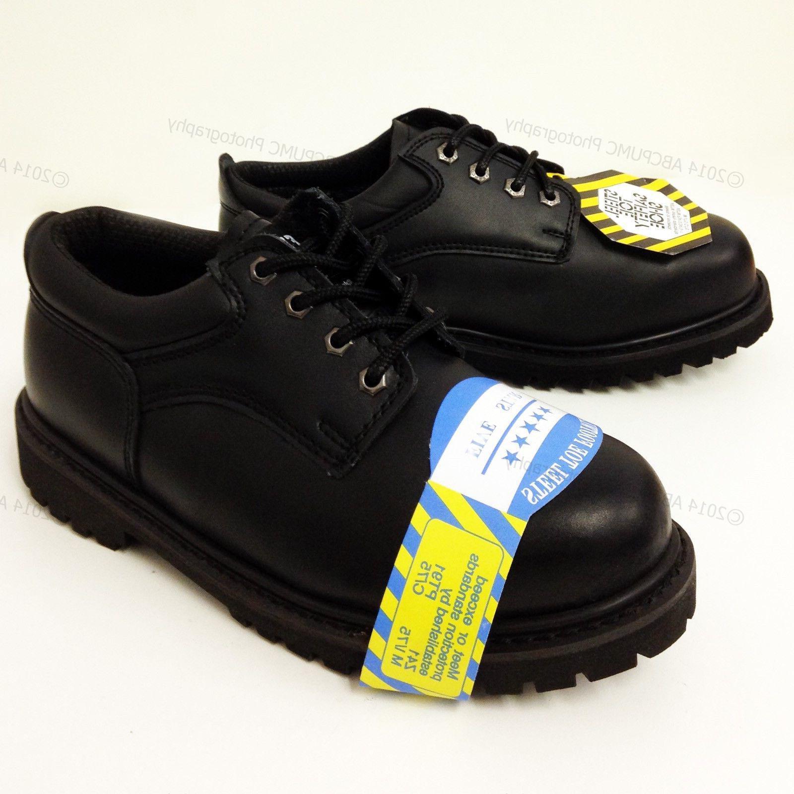 new men s steel toe work boots