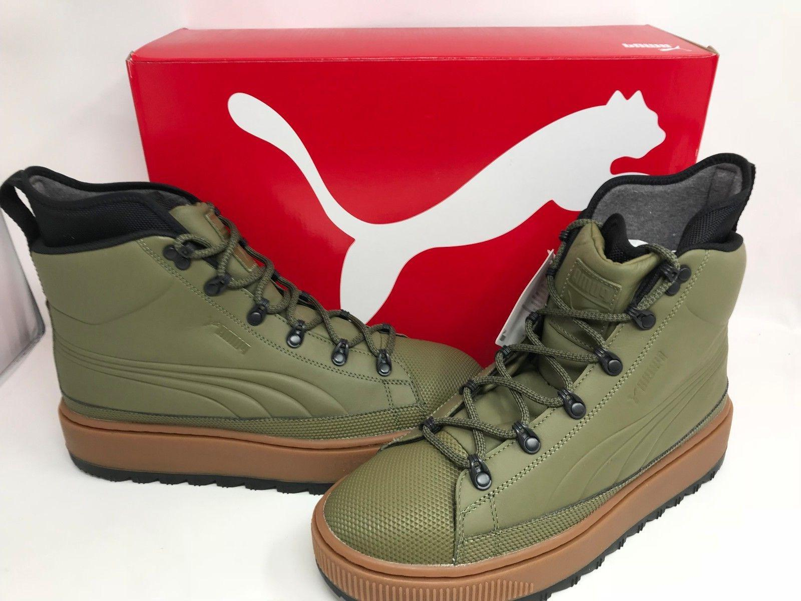 NEW! Puma Men's The Ren Boot Olive/Black #36336603 Z28 z