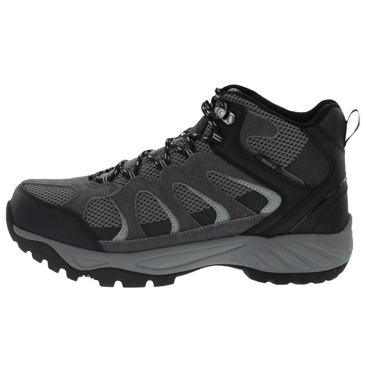 New Boot, Black, Suede Leather, All Terrain Hiking