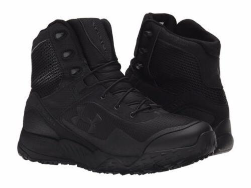 New Men's Under Armour Valsetz RTS Tactical Boots - Black