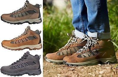 b8c2bd40dbb NEW Timberland Men's MT Maddsen Lite Mid Waterproof Hiking Boots Hiker Shoes