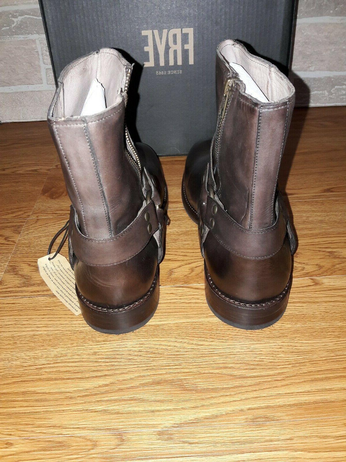 New Harness Boots Dark 3480275. Size