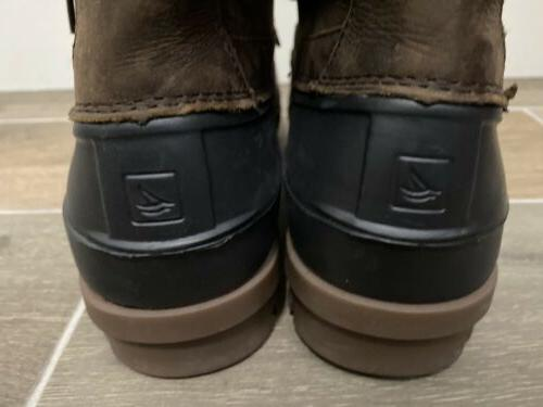 NEW Waterproof Duck Boots Size Leather