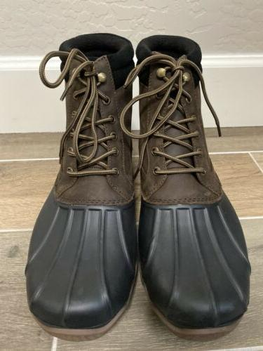 NEW Size 11 Brown Leather