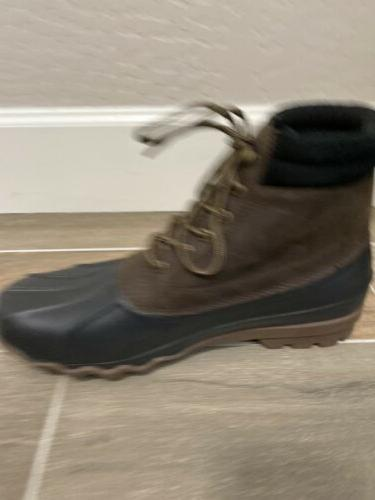 NEW Waterproof Duck Boots Brewster Size US 11 Leather