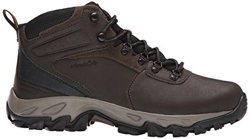 Columbia Men's Newton Ridge Plus Waterproof Hiking Boot Wide