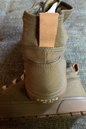 Nwob Sperry Lug Size 13 Olive