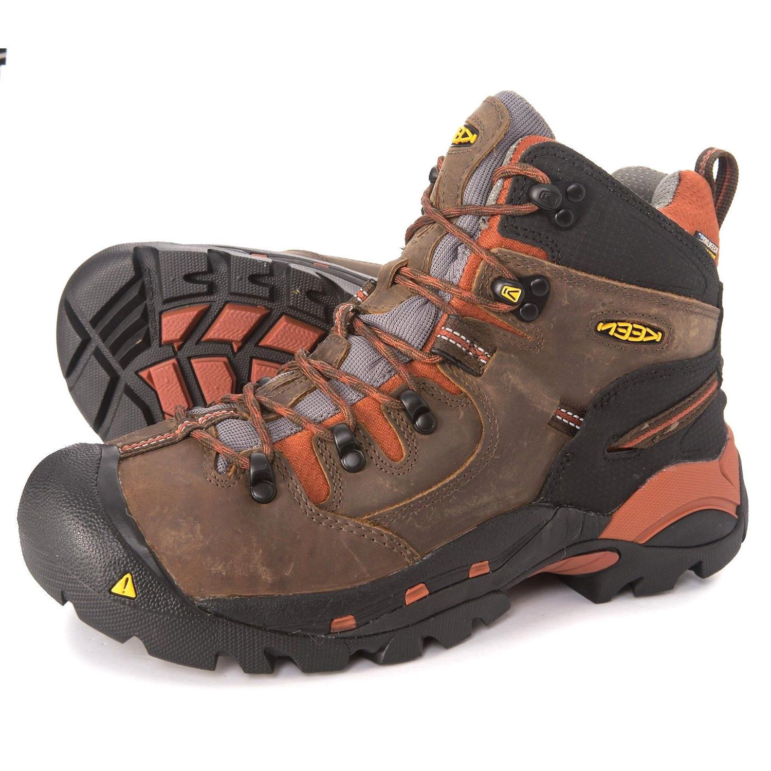 KEEN PITTSBURGH Mid Work Hiker Boots