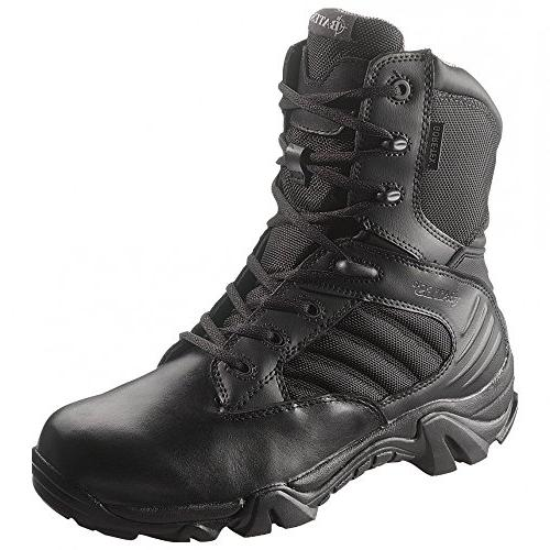 Police Boots Leather Waterproof Cushioned Ballistic Nylon resistant12 2E