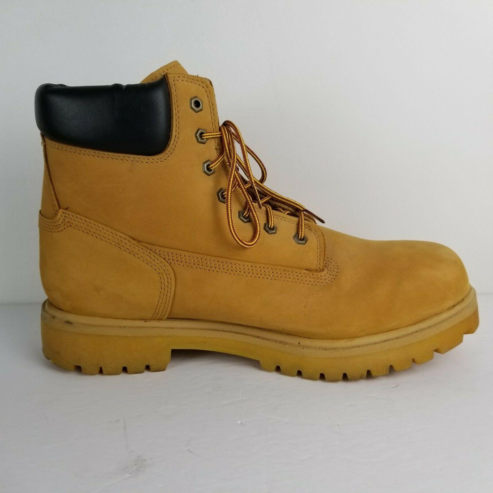 TIMBERLAND Direct Attach Waterproof Wheat Boots 15 M