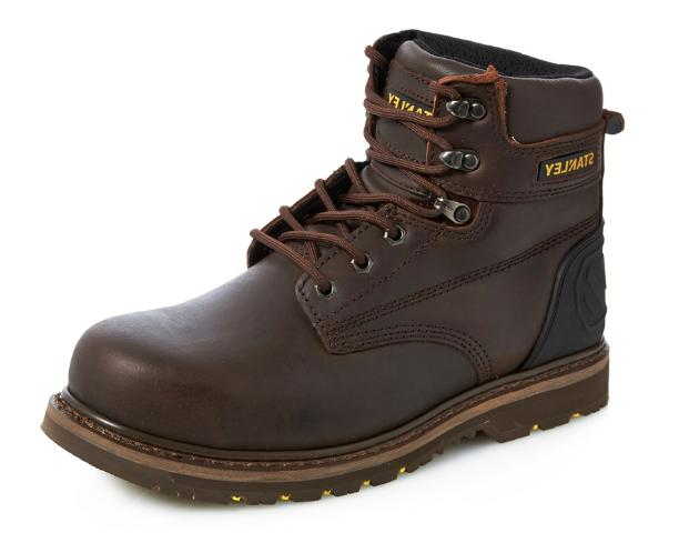 Stanley Pro Lite Men's Leather Steel Toe Industrial And Cons