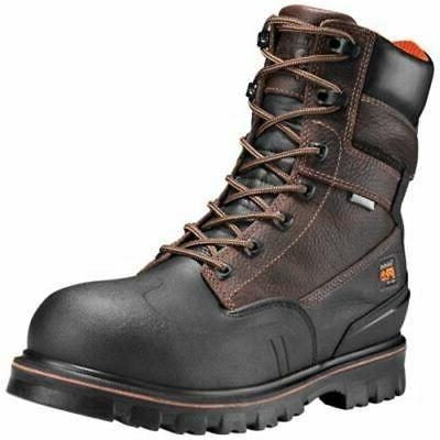 """Timberland PRO Men's Rigmaster 8"""" Steel Toe Work Boots TB0A1"""