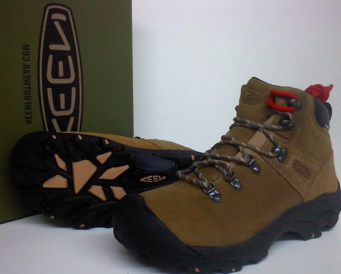 408682a1404 Keen Pyrenees Men's Hiking Work Boots - Leather