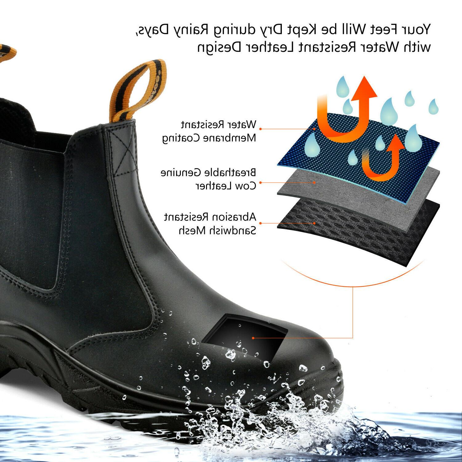 Safety Shoes Water Breathable on