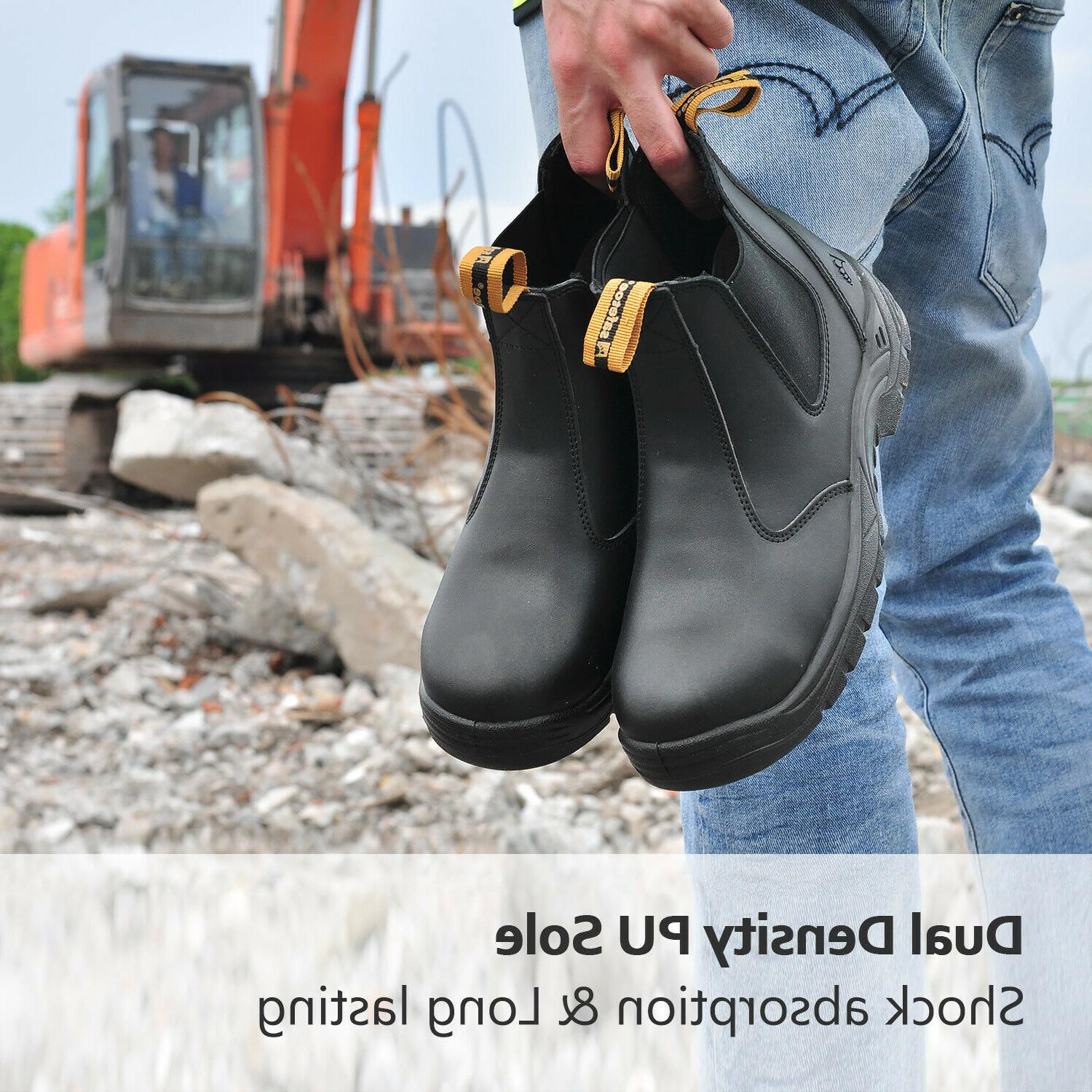 Shoes Steel Toe Water Breathable on