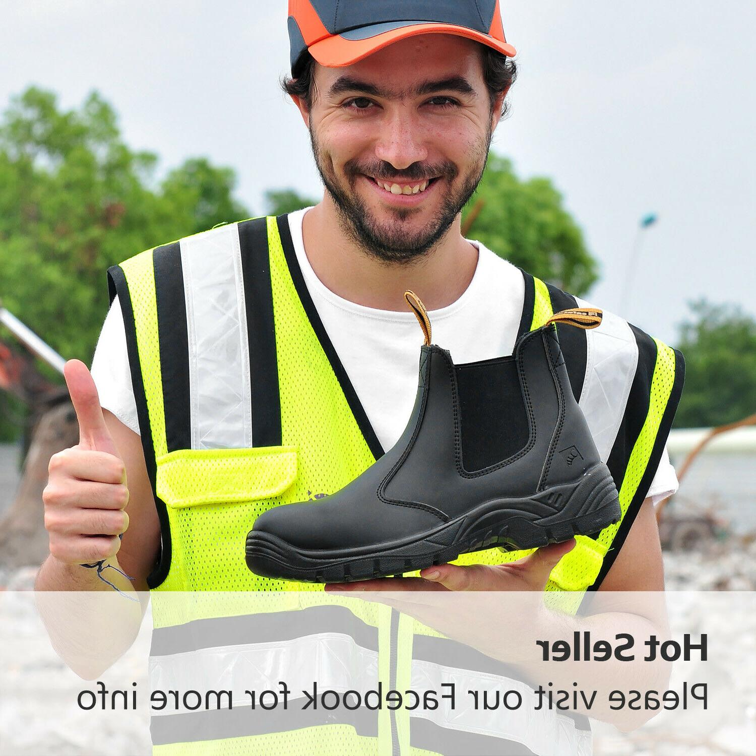 Safety Boots Shoes Steel Toe Water Resistant on