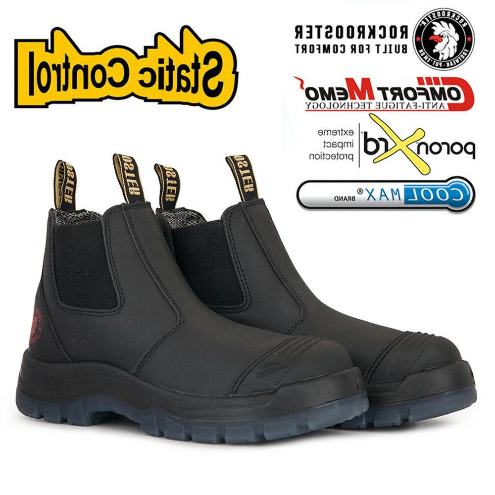men s work boots soft toe water