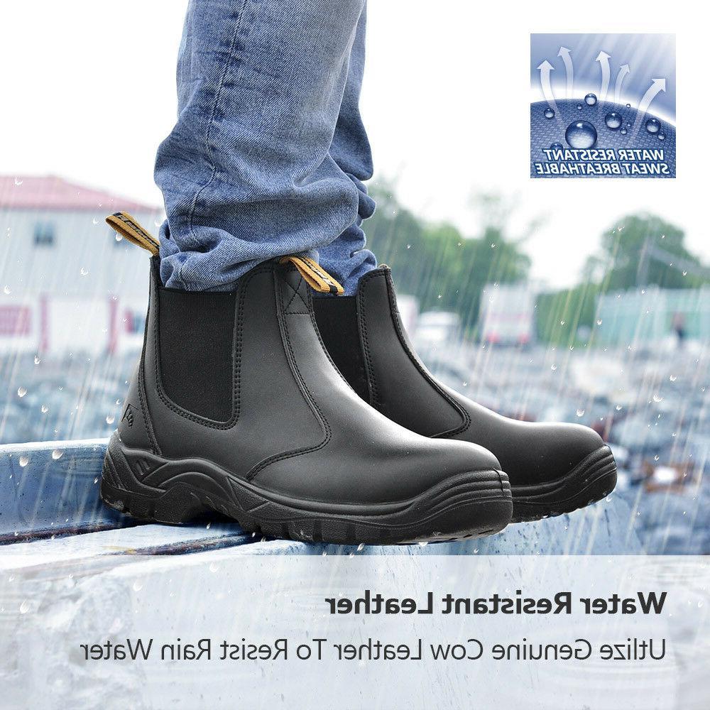 Safetoe Safety Work Boots Mens Steel Water M-8025