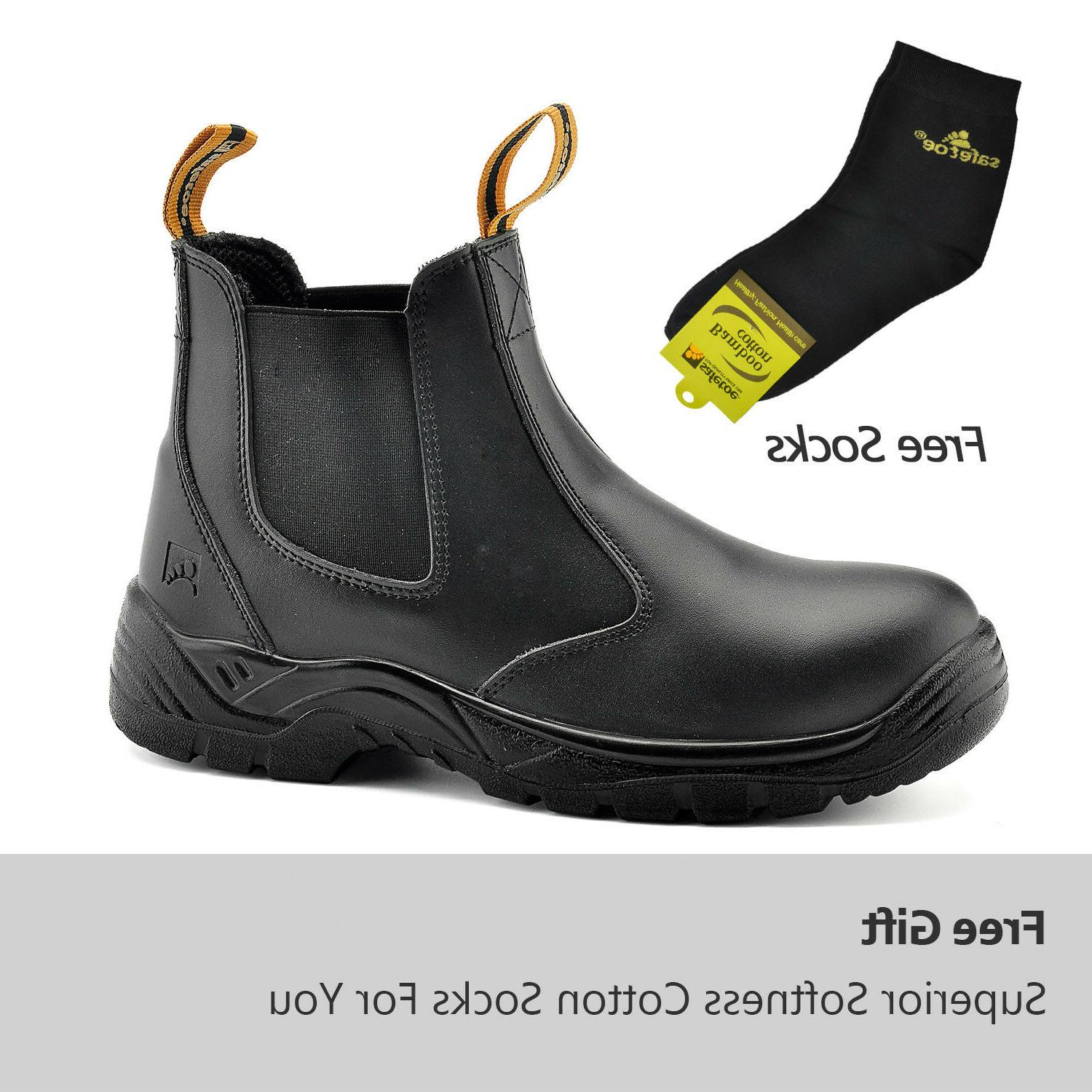 Safetoe Work Mens Shoes Water Resistant M-8025