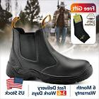 Safetoe Safety Work Boots Mens Shoes Steel Toe Water Resista