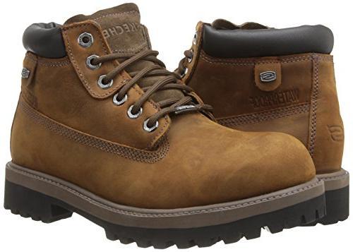 Mens Skechers Sergeants/Verdict Boots 9.5 D,