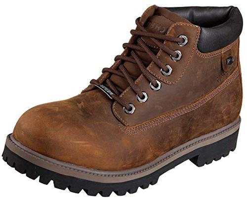 4070da9c1ea96 Mens Skechers Sergeants/Verdict Work Boots 10 M, Brown